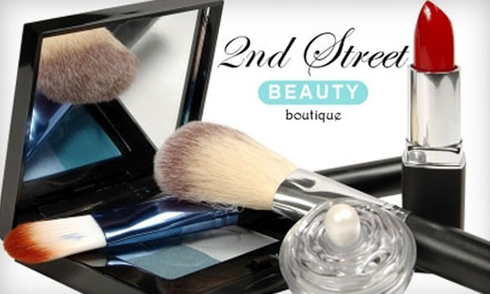 2nd Street Beauty - Multiple Locations: Facial or Beauty Products at 2nd Street Beauty
