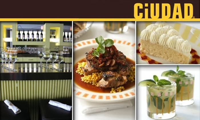 Ciudad - Downtown Los Angeles: $20 for $40 Worth of Latin Cuisine and Cocktails at Ciudad