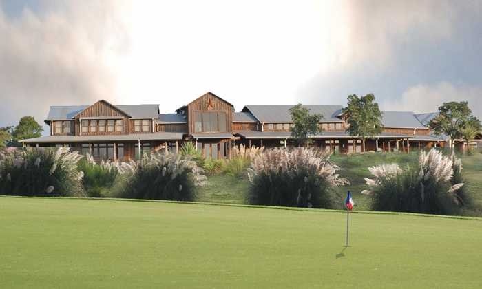 The Golf Club of Texas - Medina Valley: 18 Holes for 2 or 4 with Ball Buckets or 2 Player Development Programs at The Golf Club of Texas (Up to 57% Off)
