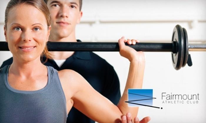 Fairmount Athletic Club - Upper Merion: $35 for 10 Fitness Classes at Fairmount Athletic Club in King of Prussia ($125 Value)
