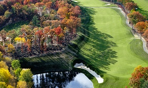 Red Tail Golf Club: Round of Golf with Cart and Warm Up Range Balls at Red Tail Golf Club (Up to 27% Off). Three Options Available.