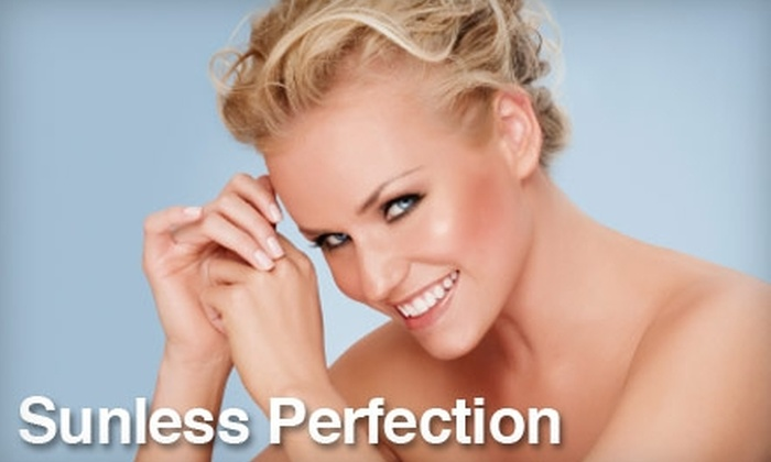 Sunless Perfection - Multiple Locations: $10 for One Aromatic Airbrush at Sunless Perfection Airbrush Tanning Studio ($21 Value)