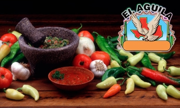 El Aguila - Silver Spring: $25 for $50 Worth of Latin Fare and Drinks at El Aguila in Silver Spring