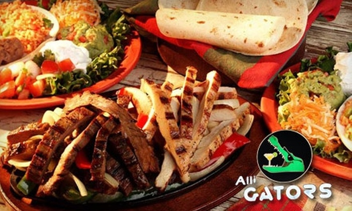 Alli-Gators Grill & Bar - Fort Myers: $15 for $30 Worth of American Fare and Drinks at Alli-Gators Grill & Bar
