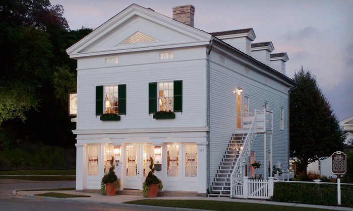 The Rochester Inn - Hilltop: One- or Two-Night Stay for Two at The Rochester Inn in Sheboygan Falls, WI