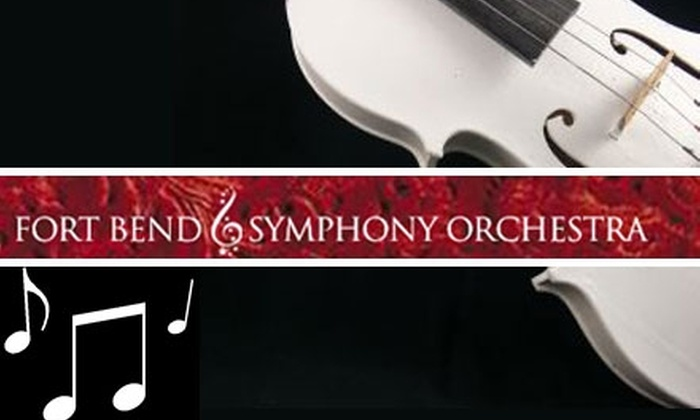 """Fort Bend Symphony Orchestra - Stafford Centre: $8 Ticket to The Fort Bend Symphony Orchestra's """"Saddle Up"""" on Sunday, February 21, at 2 p.m."""