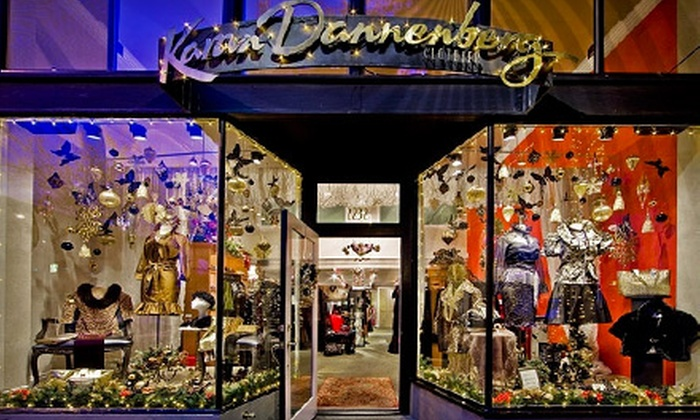 Karan Dannenberg Clothier - Belltown,Downtown,Pike Place Market,Pine Market: $50 for $100 Worth of Designer Apparel and Accessories at Karan Dannenberg Clothier
