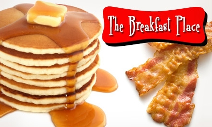 The Breakfast Place - Providence: $5 for $15 Worth of Fare and Drinks at The Breakfast Place