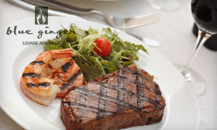Blue Ginger Lounge & Grille - Central London: $22 for $45 Worth of French-Asian Fusion at Blue Ginger Lounge & Grille (or $10 for $20 Worth of Lunch)