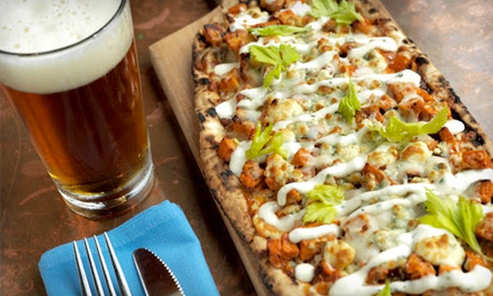 District Bar - Near North Side: Gourmet Pub Meal for Two or Four at District Bar