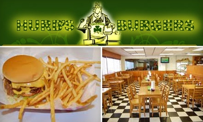Hurb's Burgers - Central City: $3 For $6 Worth of Burgers, Drinks and More at Hurb's Burgers