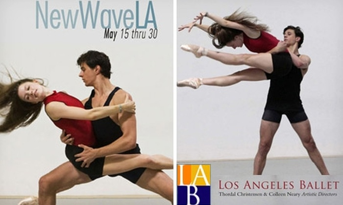 "Los Angeles Ballet - Multiple Locations: $15 Ticket to One of Four Los Angeles Ballet Performances of ""New Wave LA"" ($30 Value). See Below for Dates and Venues."