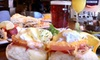 The Town Hall Tap - Nokomis: Brunch Fare and Mimosas or Beer for Two or Four at The Town Hall Tap (Up to 55% Off)