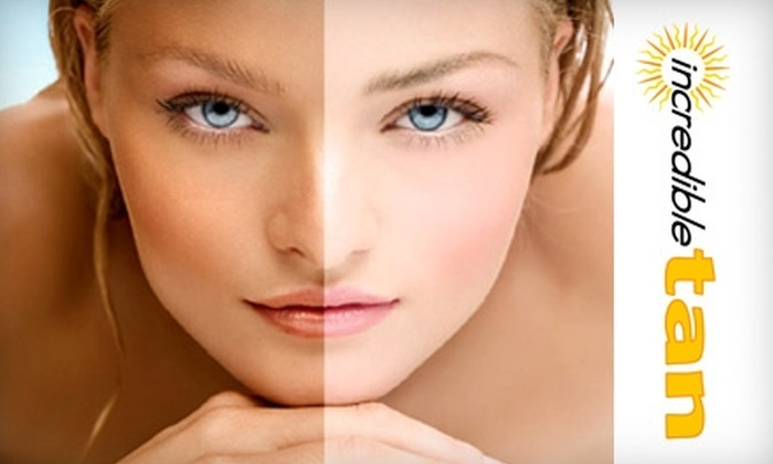 Incredible Tan - Newton Upper Falls: $25 for $100 of Tanning Services and Products at Incredible Tan in Newton