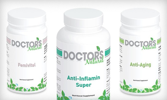 Doctor's Natural: $15 for $35 Worth of Supplements and Vitamins from Doctor's Natural