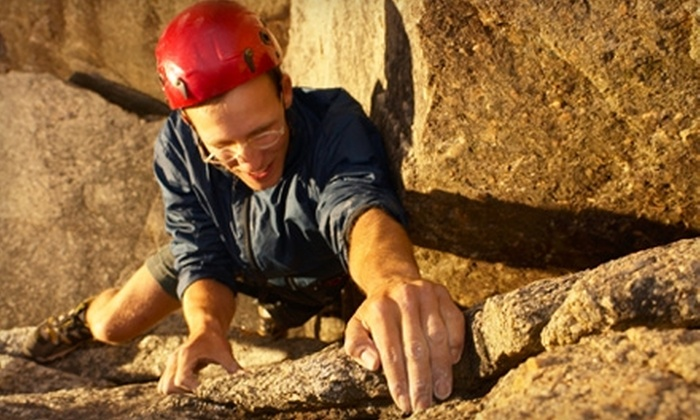 Castle Rock Climbing School - West Santa Clara: $140 for a Four-Hour Climbing Tour for Two from Castle Rock Climbing School in Castle Rock State Park ($280 Value)