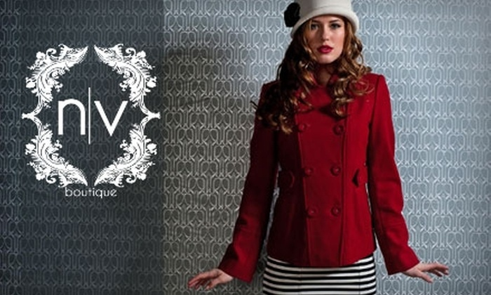 NV Boutique - Newark: $20 for $40 Worth of Clothes and Accessories at NV Boutique in Newark