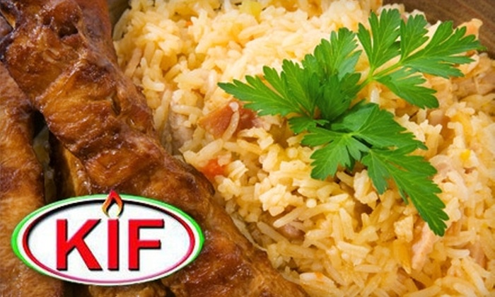 Kingston Iranian Food - Polson Park: $10 for $20 Worth of Iranian Fare at Kingston Iranian Food