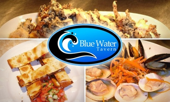 Blue Water Tavern - Pine: $20 for $40 Worth of Casual, Contemporary Fare and Drinks at Blue Water Tavern