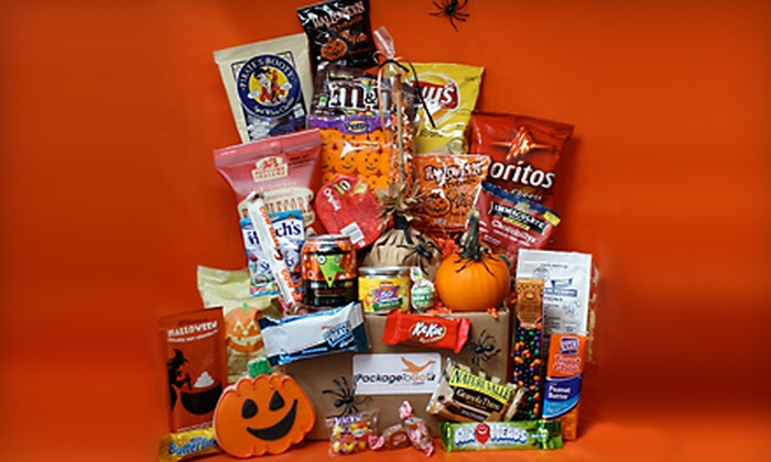 Package To Go: Small or Jumbo Halloween-Themed Care Package from Package To Go