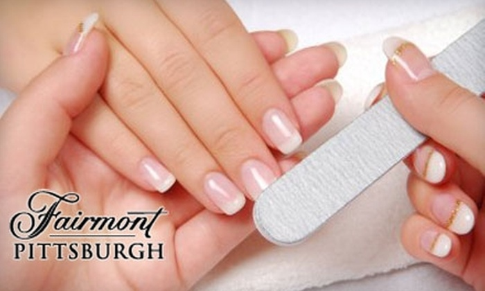 The Health Club & Spa at Fairmont Pittsburgh - Downtown: $20 for a Manicure ($35 Value) or $20 for a Manicure Plus Paraffin Hand Treatment Monday–Thursday ($50 Value) at The Health Club & Spa at Fairmont Pittsburgh
