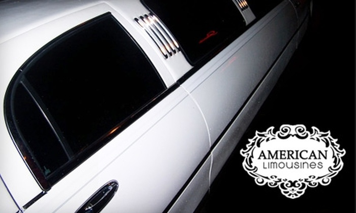 American Limousines - Baltimore: $35 for $75 Worth of Luxurious Transportation from American Limousines