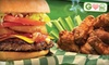 Beef 'O' Brady's - Ocala: $4 for $8 Worth of Burgers at Beef 'O' Brady's