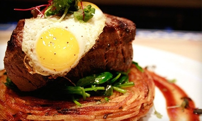 Market Bar Chicago - West Loop: $10 for $20 Worth of Upscale American Fare and Drinks at Market Bar Chicago