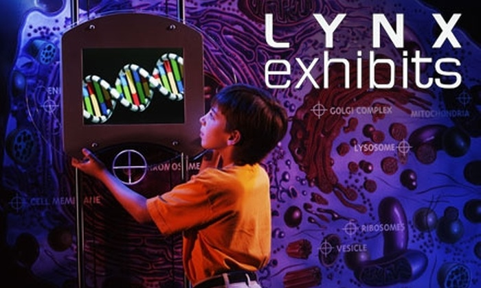 """Lynx Exhibits - Union Plaza: $10 for Two Admissions to """"Cracking The Code: Human DNA"""" at Lynx Exhibits (Up to $20 Value)"""