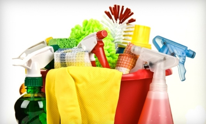Custom Maid Service - Multiple Locations: $50 For One and a Half Hours of House Cleaning from Custom Maid Service ($111 value)