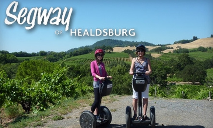 Segway of Healdsburg - Healdsburg: $49 for a Russian River Vineyards Deluxe Segway Tour from Segway of Healdsburg