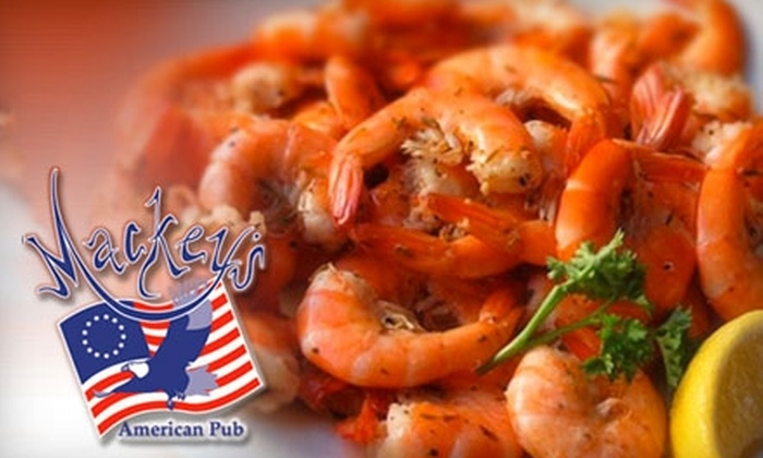 Mackey's American Pub - Downtown Manassas: $7 for $15 Worth of Classic American Fare and Drinks at Mackey's American Pub in Manassas
