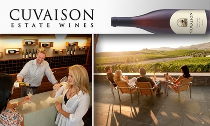 Cuvaison Estate Wines - Napa: $29 for Tasting for Two Plus a Bottle of Wine at Cuvaison Estate Wines ($62 value)