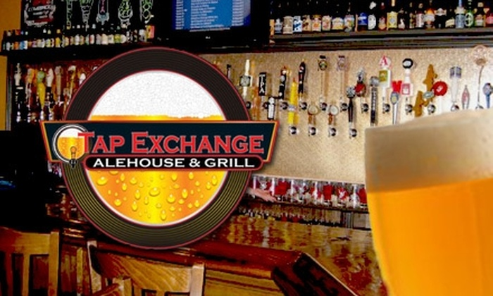 The Tap Exchange - Far North Central: $15 for $35 Worth of American Pub Fare and Drinks at The Tap Exchange Alehouse & Grill