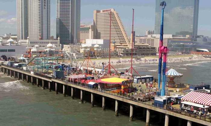 Steel Pier - Steel Pier Amusements: Theme-Park Rides at Steel Pier (Up to 52%). Four Options Available.