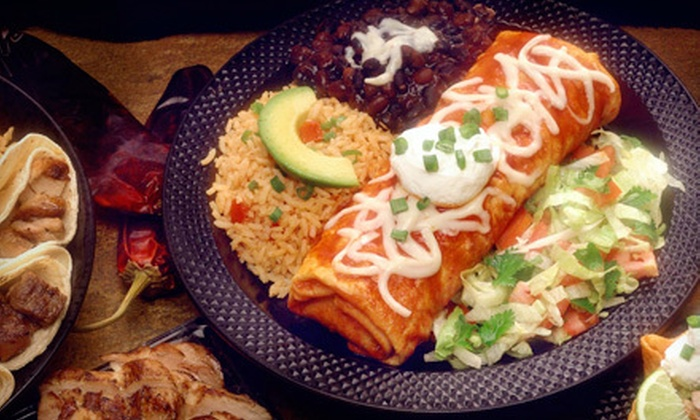 Chronic Tacos - Downtown: Burrito Meal for 2 or Taco Catering Package for 10 at Chronic Tacos (Up to 51% Off)