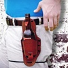 EcoKind Leather Drink Holster with Belt Clip