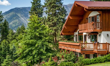 Groupon Deal: 1-, 2-, or 3-Night Weekday Stay for Two in a King Suite at Fox Den Bed and Breakfast in Leavenworth, WA