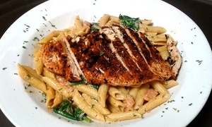 The Great American Tavern: Inventive Pub Food for Two or Four at The Great American Tavern (Up to 58% Off). Three Options Available.