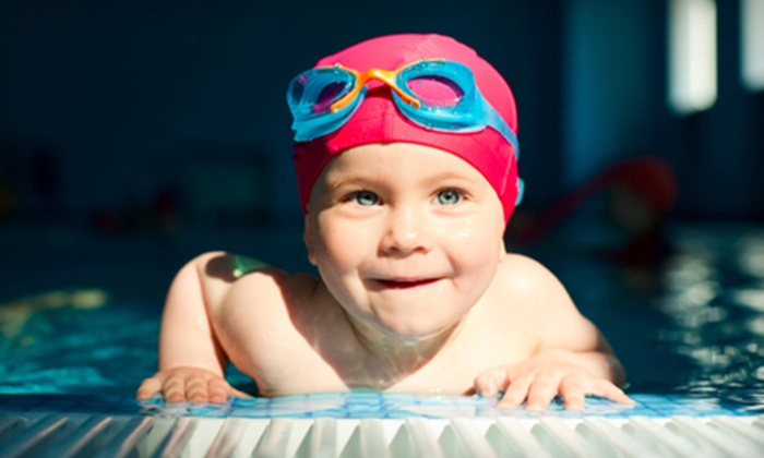 AquaCenter Swim School - Multiple Locations: Three or Five Swim Lessons at AquaCenter Swim School (Up to 70% Off)