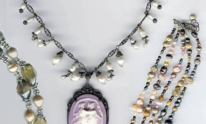 Bead Works Inc. - Franklin: Two-Hour Jewelry-Making Class or Private BYOB Jewelry-Making Party for Up to Five at Bead Works Inc. (Up to 68% Off)