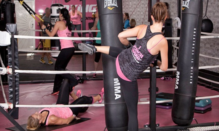 Jabz Boxing Fitness for Women - Scottsdale-Thunderbird Plaza: 10 Boxing Fitness Classes or One Month of Unlimited Classes at Jabz Boxing Fitness for Women (Up to 78% Off)