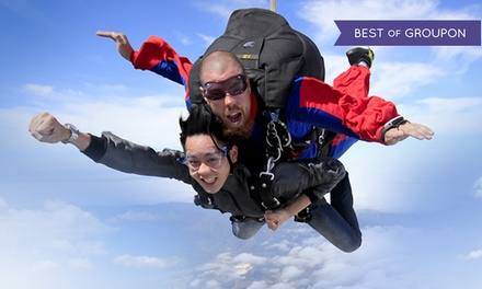 Tandem Skydive from 8,000 Feet for One or Two from Skydive Hollister (Up to 49% Off)