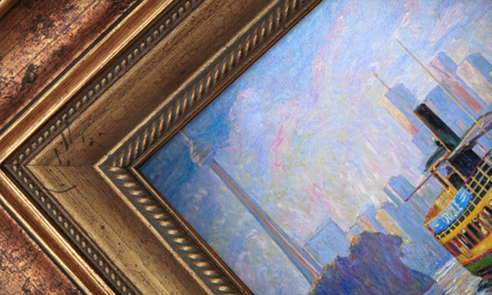 Frame Central - Multiple Locations: $35 for $75 Worth of Framing Services at Frame Central