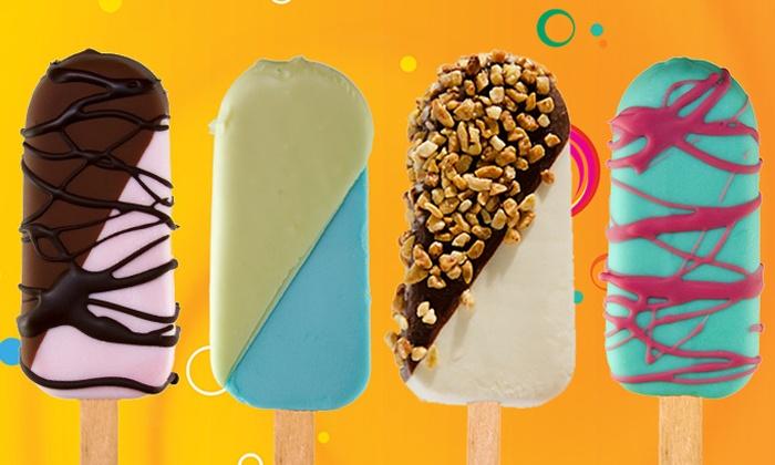 Frozen Peaks - Greenwich Village: $2.40 for Five Groupons, Each Good for One Frozen Yogurt Popsicle at Frozen Peaks ($4.50 Value)