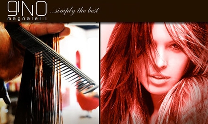 Gino Salon - Far North Dallas: $40 for $100 Worth of Luxurious Hair Services at Gino Salon