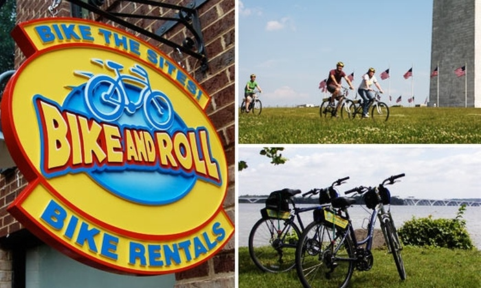 Bike and Roll Washington DC - Federal Triangle: $17 for Full-Day Comfort Bike Rental ($35 Value)