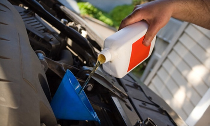 Meineke Car Care Center - Pruett Estates: $30 for Three Basic Oil Changes at Meineke Car Care Center in Baytown ($59.85 Value)