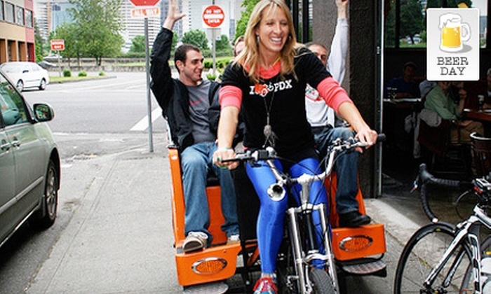 Pdx Pedicab - Boise: $30 for a Pedicab Brewery Tour from Pdx Pedicab ($65 Value)