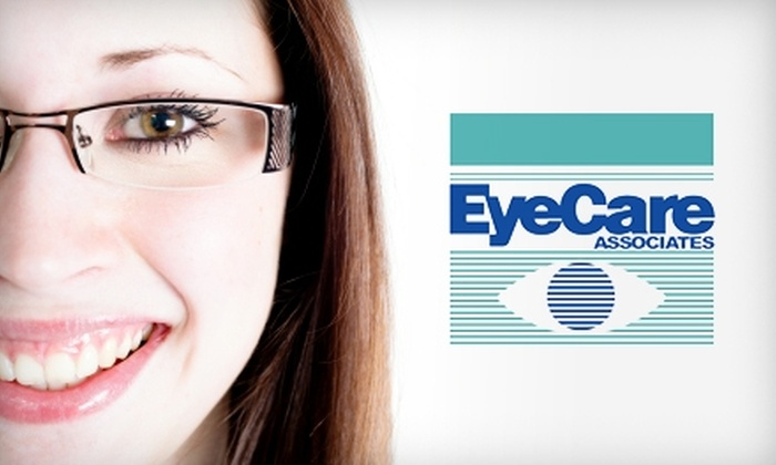 EyeCare Associates - Multiple Locations: $50 for $150 Worth of Eyewear and/or Exams at EyeCare Associates. Eleven Locations Available.